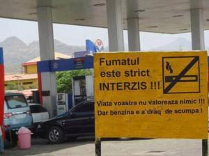 benzina scumpa