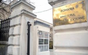 ministerul afacerilor externe romania