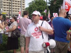 protest sanatate
