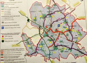 harta Zona Metropolitana