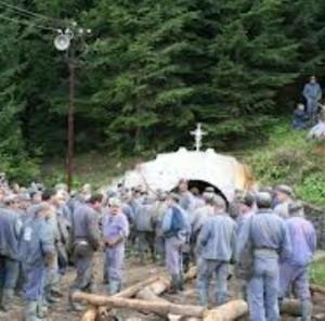mineri crucea