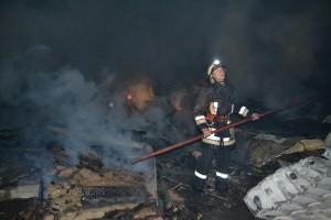 pompier la lucru